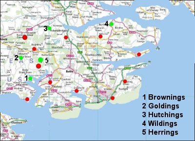 475AD Haesta and the Hastings Saxons  - History effecting Kent & Sussex