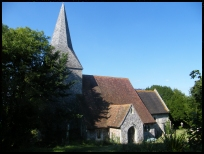 BerwickEastSussex - St Michaels and All Angels church
