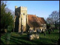 BodiamEastSussex - St Giles church