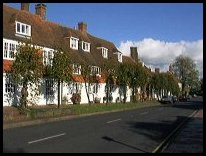 BurwashEastSussex - Houses at the Eastern end of the High St