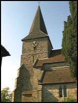All Saints church (OldHeathfield East Sussex)