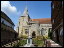 St Dunstans church (Mayfield East Sussex)