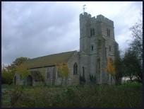 St Peter and St Paul church (Newchurch Kent)